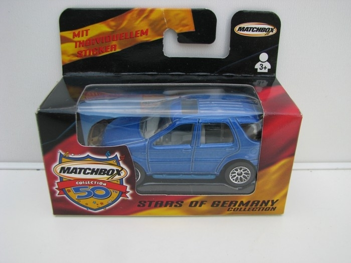 Mercedes-Benz ML430 Blue 1:62 Stars Of Germany Matchbox